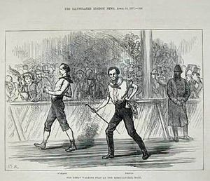 Weston vs O'Leary 1877